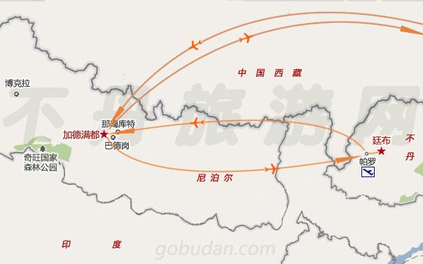不丹地图全图高清版